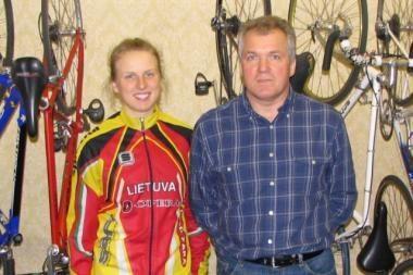 Naujasis Lietuvos moterų dviračių rinktinės treneris viltis sieja su nauja karta