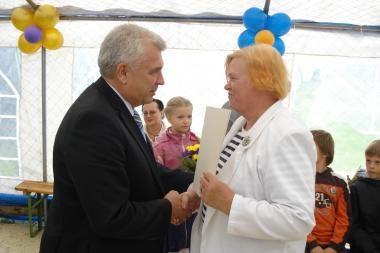 Vaikus globojančioms šeimoms – Klaipėdos mero padėka