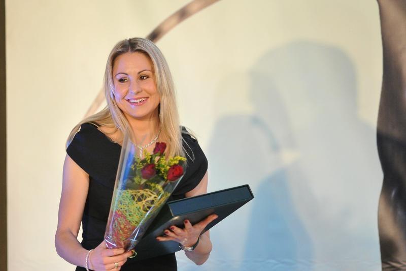 L. Asadauskaitei įteiktas TOK olimpinės čempionės aukso ženkliukas