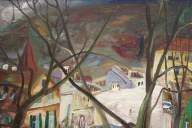 Vilniuje atidaryta šiuolaikinės moderniosios tapybos paroda