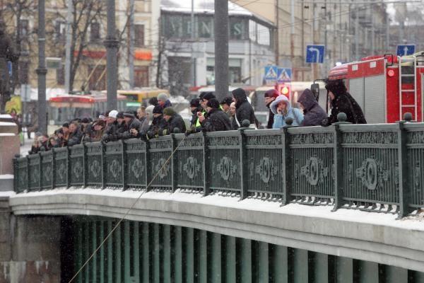 Prie sostinės Žaliojo tilto narai nerado nei skenduolio, nei gyvūnų (papildyta)