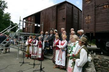 Atminimo valanda - Vilniaus geležinkelio stotyje