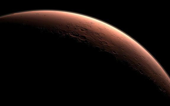 Maroke nukrito juodo stiklo meteoritas iš Marso