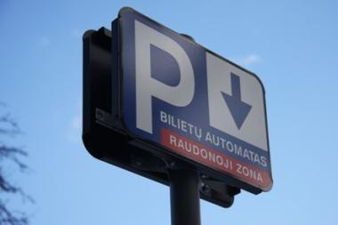 Už automobilių stovėjimą teks mokėti ir Vingrių gatvėje