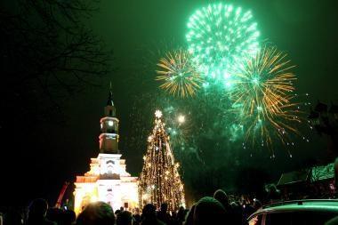 Kalėdos Kaune - be žvaigždžių, Naujieji - be fejerverkų