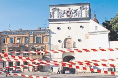 Automobilių stovėjimas Vilniaus senamiestyje gali kainuoti 9 litus