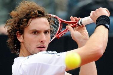 Latvijos tenisininkas nugalėjo  pasaulio reitingo lyderį R.Federerį