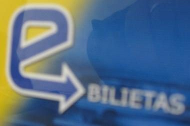 Vilniuje sutriko elektroninių bilietų pildymo sistema