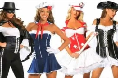 Seksualiausi Helovino kostiumai Jai