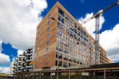 Statybų sąnaudos pamažu auga