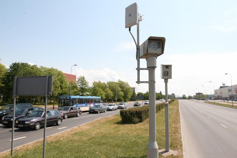 Liepojos gatvėje norima padidinti leistiną greitį