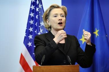 H.Clinton: JAV remia Lietuvos energetinės nepriklausomybės strategiją