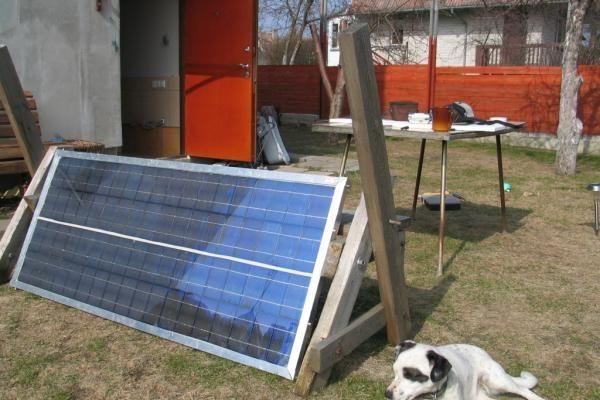 Klaipėdietis elektrą taupys susikonstravęs saulės bateriją