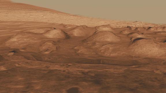 NASA robotas ieškos gyvybės pėdsakų Marse