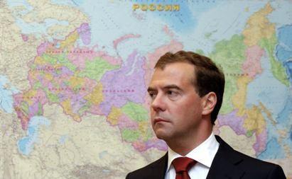 D.Medvedevo patarėjas: jis nori likti prezidento poste antrai kadencijai