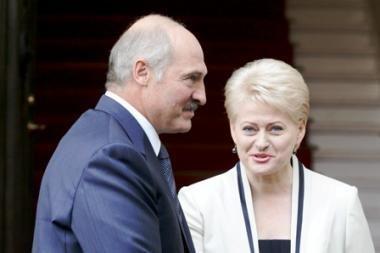 Lietuva neskuba pritarti ES ekonominėms sankcijoms prieš Baltarusiją