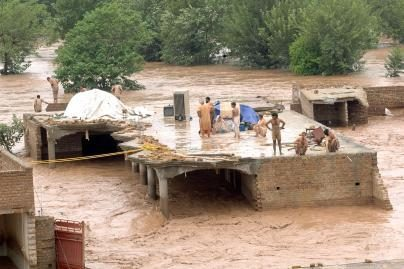 Pakistane dėl potvynių be pastogės liko per 4 mln. žmonių