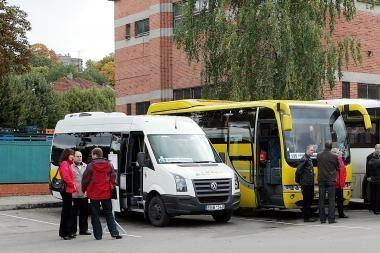 Kelionė Kaunas–Vilnius autobusu kainuos 16 litų