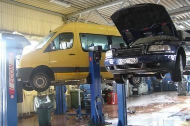 Vokiškų automobilių servisai Vilniuje mažina kainas