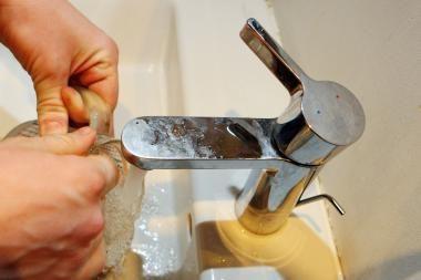 Kada nurims aistros dėl karšto vandens skaitiklio?