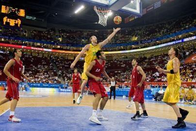 Australijos krepšininkai laimėjo 38 taškų skirtumu