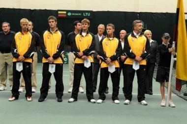 Lietuvos tenisininkų pergalei prieš airius užteko trijų partijų
