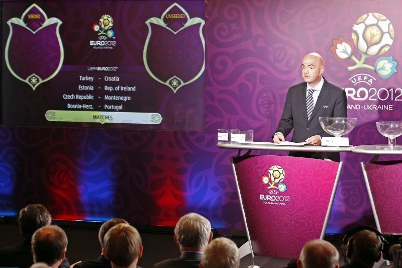 """Išaiškėjo """"Euro 2012"""" atkrintamųjų varžybų poros"""