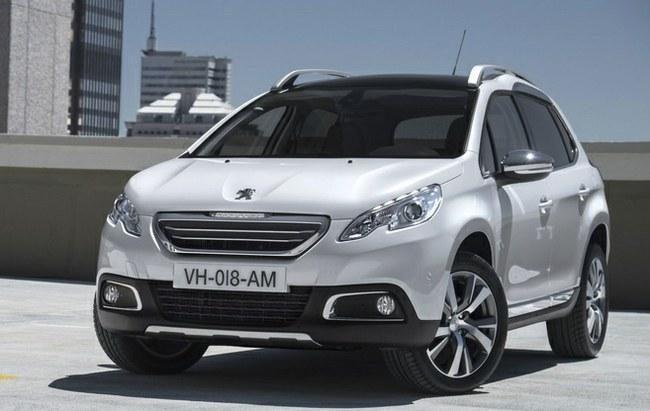 """""""Peugeot 2008"""" - naujas miesto visureigis"""