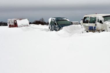 Estijoje dėl pūgos elektros neturi dar 3 500 namų ūkių
