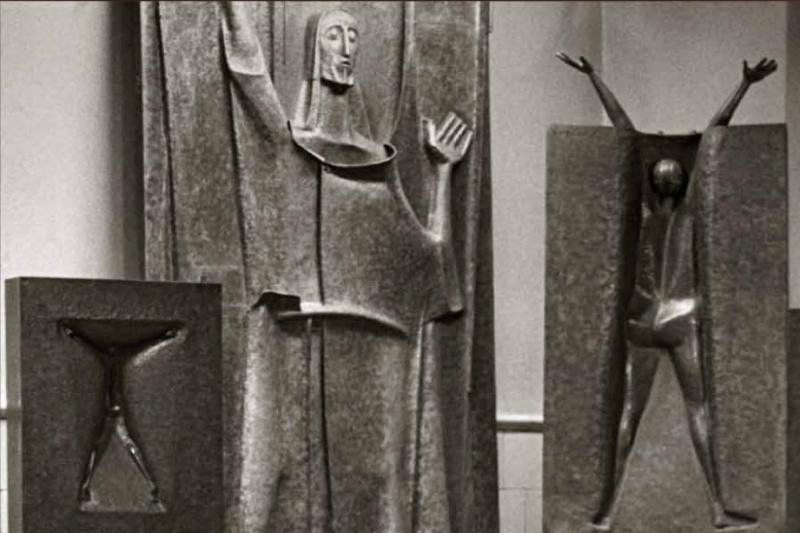 Vytauto Kašubos skulptūros – Prano Domšaičio galerijoje Klaipėdoje