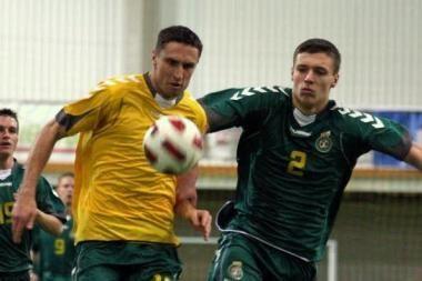 Lietuvos B ir jaunimo futbolo rinktinės dar kartą sužais draugiškas rungtynes