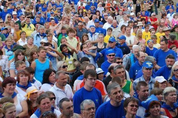 """Savivaldybė 10 tūkst. litų parėmė """"Tvarkos ir teisingumo"""" jaunimą"""
