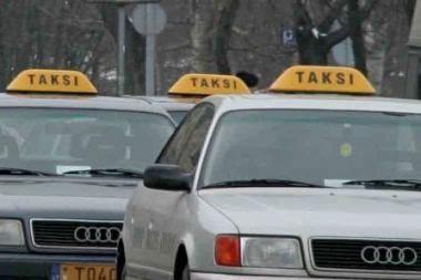 Taksi Vilniuje pinga