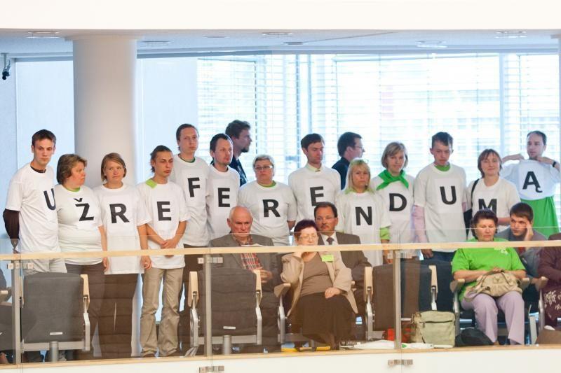 Z. Vaigauskas: referendume dėl VAE tautos atsiklausta netinkamai