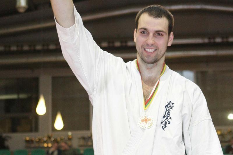 L. Kubilius pasaulio kiokušin karatė čempionate sieks medalio