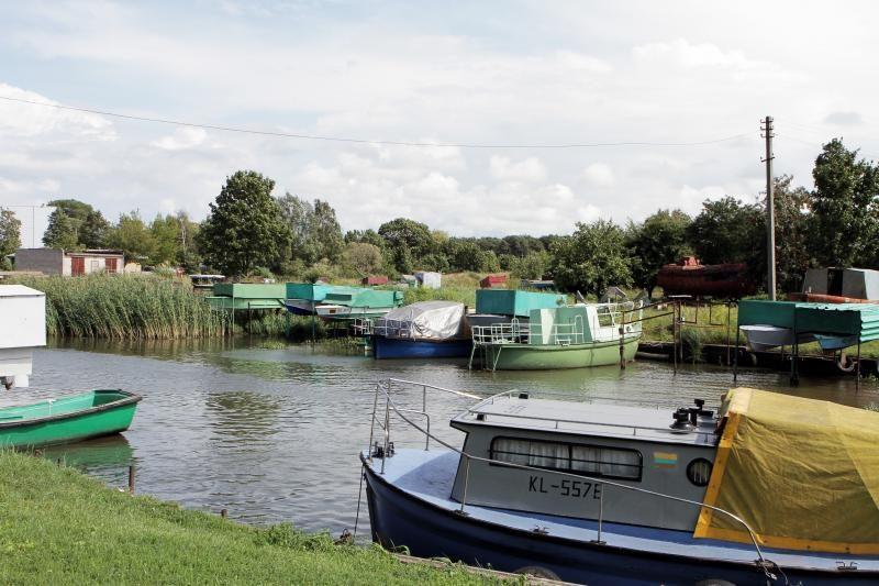 Laivininkų planuose - Smeltalės upės sutvarkymas