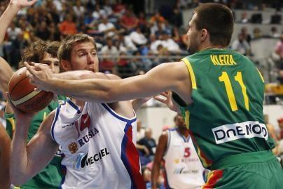 Lietuvos krepšininkai kovos su Europos čempionais