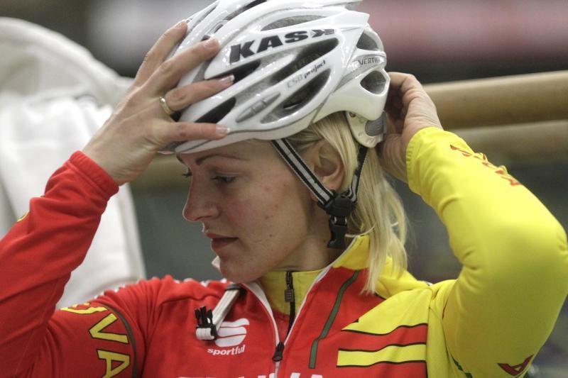 Simona Krupeckaitė – Europos dviračių treko čempionato pusfinalyje