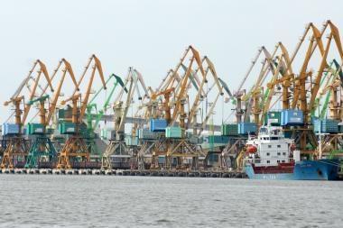 Klaipėdos uoste pasiekta didžiausia šiemet krova