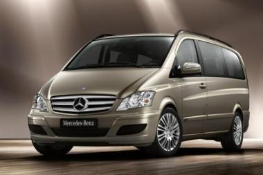 """Atnaujinti """"Mercedes-Benz"""" modeliai """"Viano"""" ir """"Vito"""""""