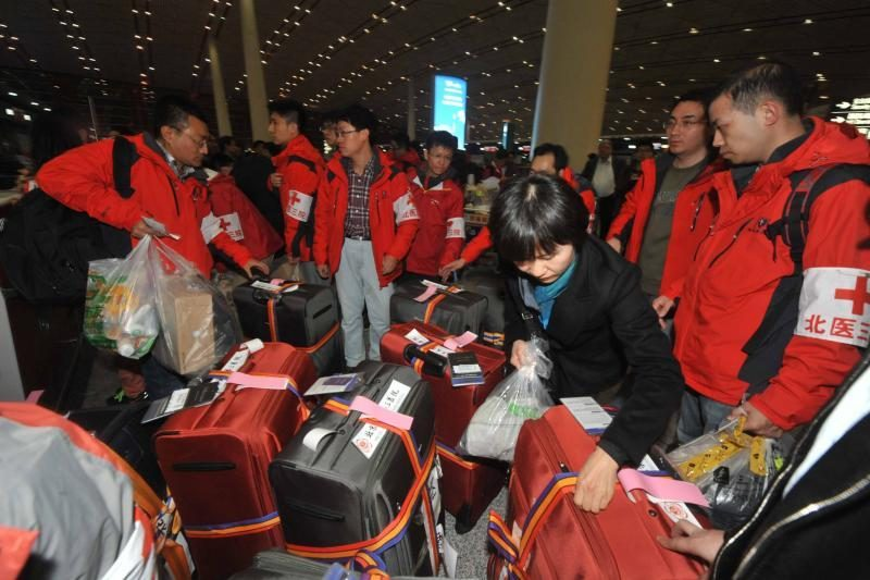 Kinijoje žemės drebėjimo aukų skaičius padidėjo iki 179