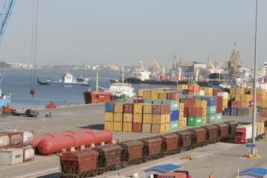 Klaipėdos uoste – svečiai iš Kinijos