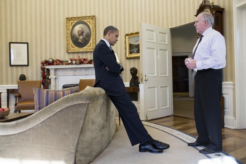 Pareigūnų rokiruotė B. Obamos komandoje