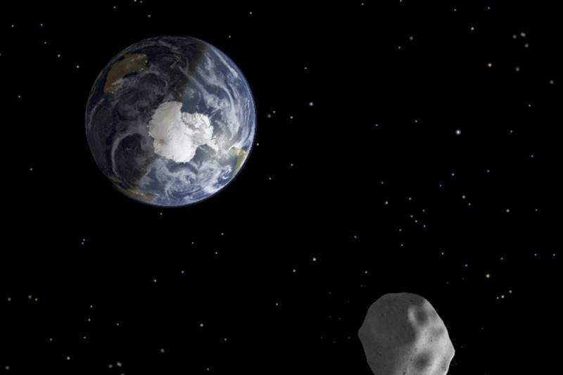 Asteroidas   saugiai  prasilenkė su Žeme