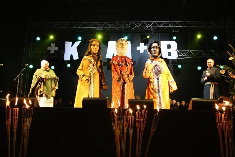 Lietuvoje švenčiama Trijų Karalių šventė