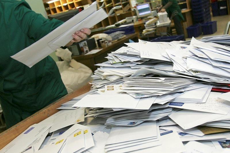 Netvarkinga pašto dėžutė – pagrindinė kliūtis sulaukti laiškų