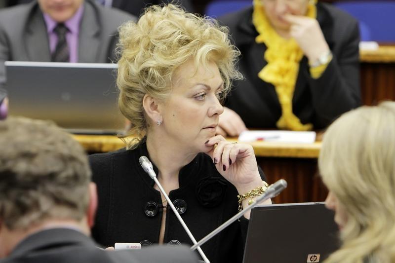 Klaipėdietė Irina Rozova grįžta į Seimą
