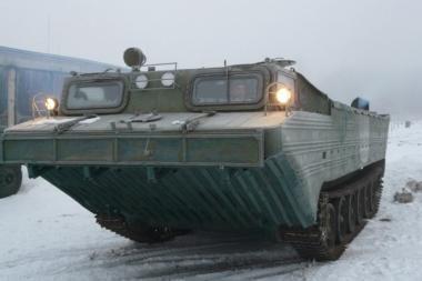 Šilutėje dislokuojama ir antroji kariuomenės amfibija