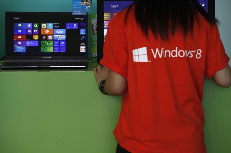 """""""Micosoft"""": žmonės greitai išmoksta naudotis """"Windows 8"""""""