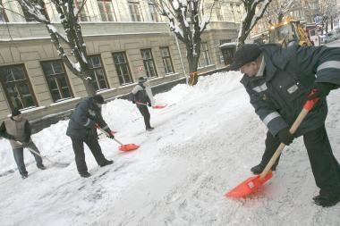 Dėl sniego - nemokamas automobilių statymas